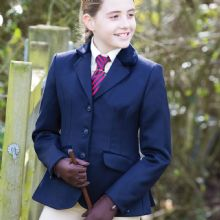Equetech Junior Kimblewick Wool Show Jacket